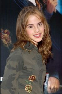 Emma Watson, en la premier de Harry Potter. Foto: Getty Images
