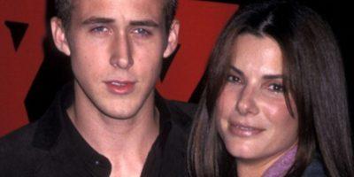 Ryan Gosling, cuando salía con Sandra Bullock. Foto:Tumblr