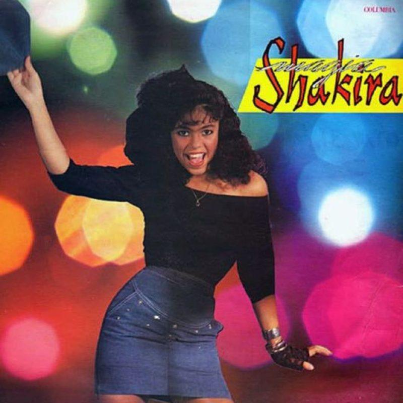 Shakira, en 1991, cuando sacó su primer álbum Foto:Coveralia