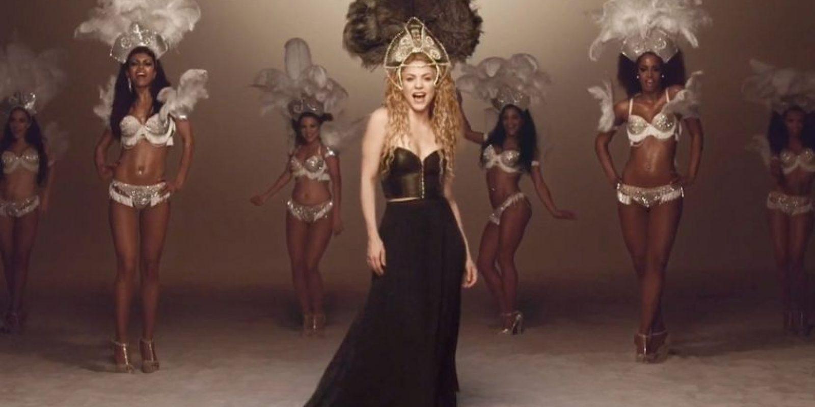 """Así se le vió en """"Dare Lalala"""", video sacado para el Mundial Brasil 2014 Foto:Shakira/Facebook"""