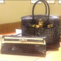 Si gastó más de 100 mil dólares en un bolso de lujo. Foto:Dorothy Wang/Instagram