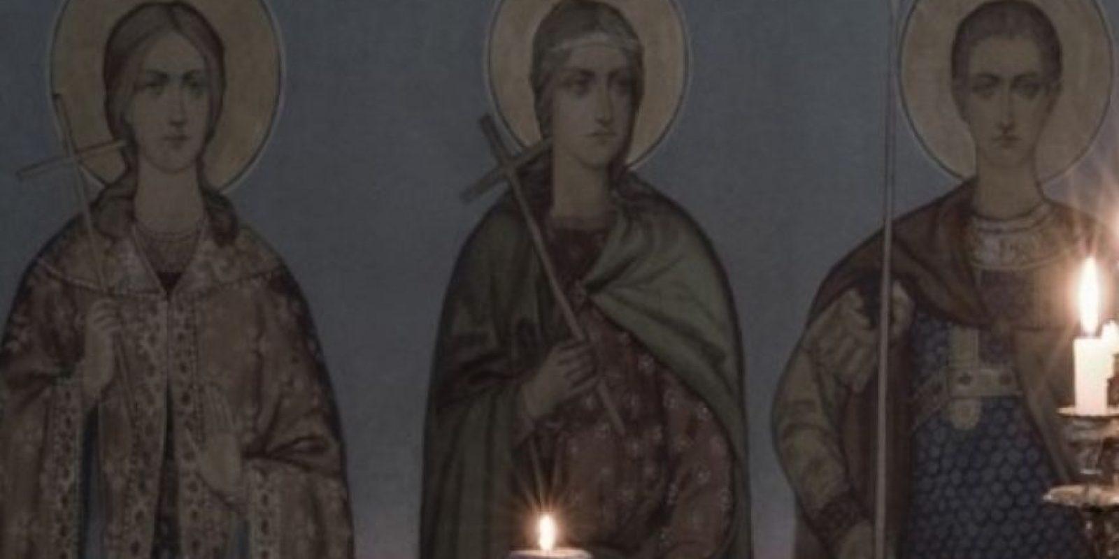 A través del simbolismo de su religión, protestan por una causa en particular. Foto:Orthodox Calendar