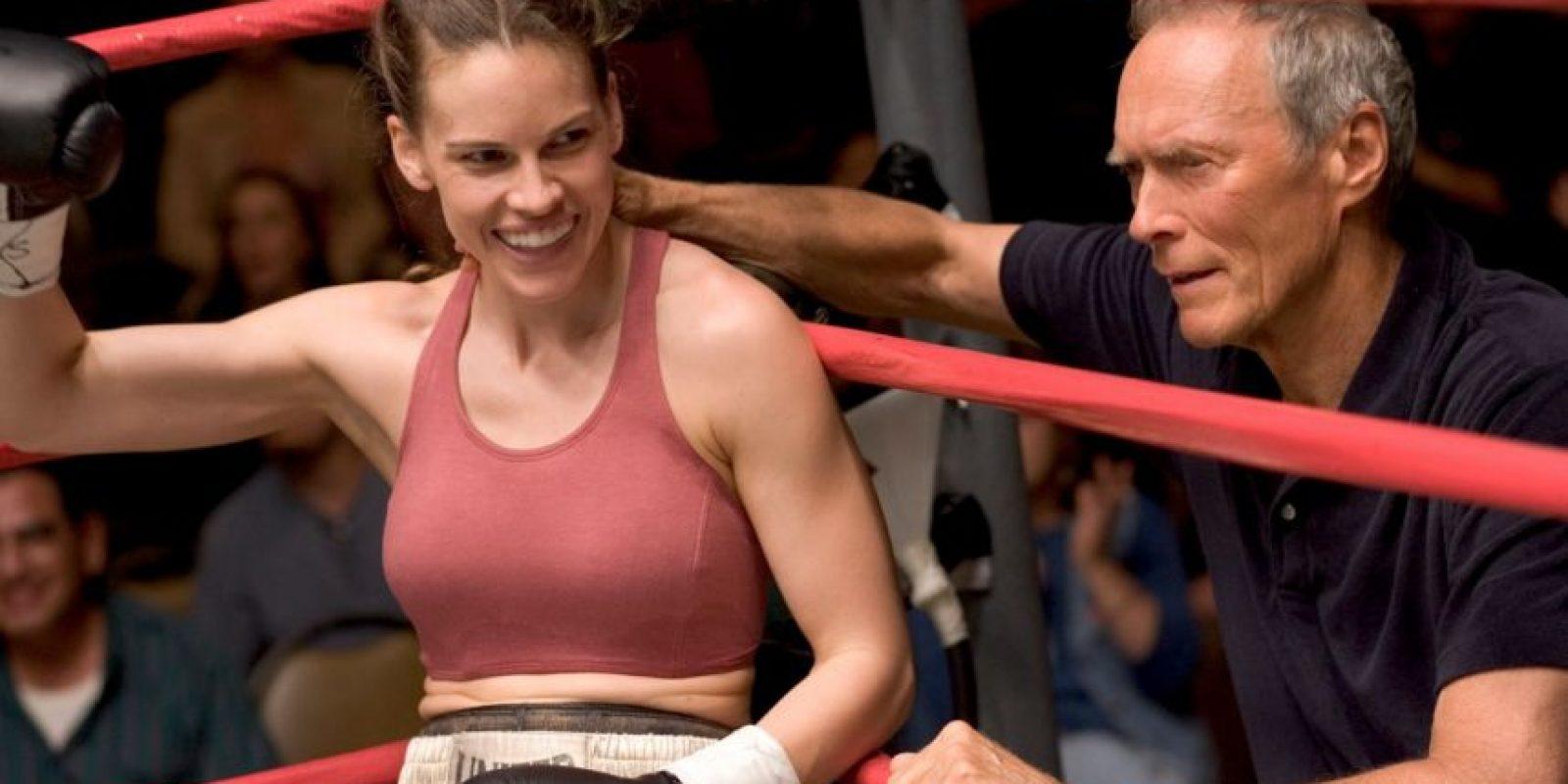 Allí interpretó a la boxeadora Maggie Fitzgerald Foto:Warner Bros