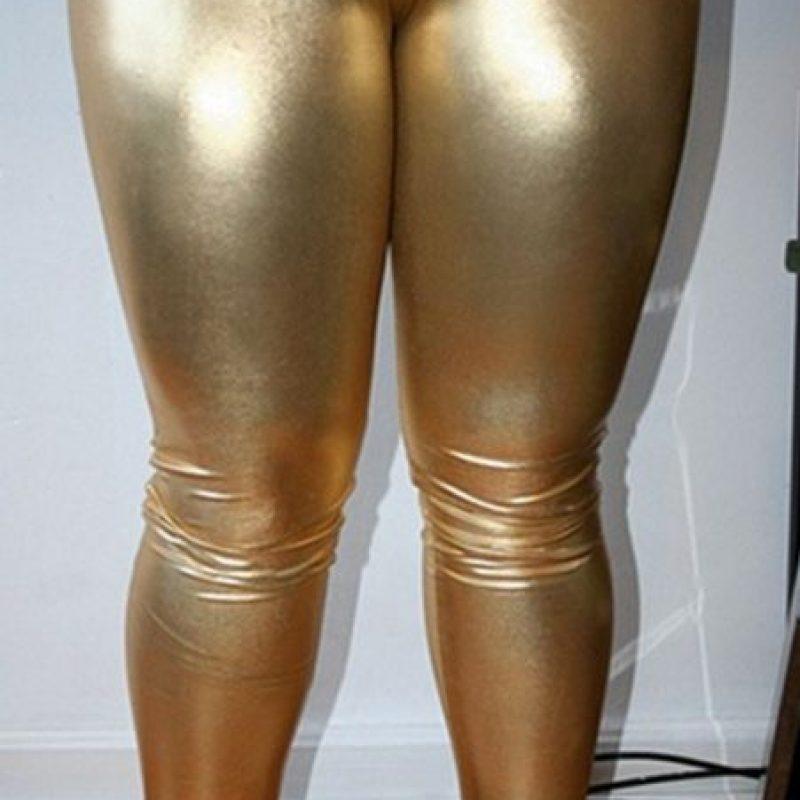 Oro puro. Foto:Poorly Dressed/CheezBurguer