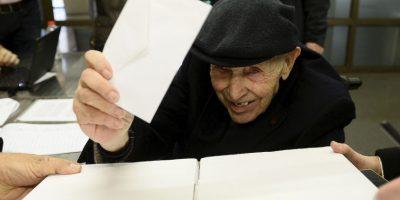 Un ciudadano aseguró que votó en tres ocasiones durante al consulta. Foto:AFP