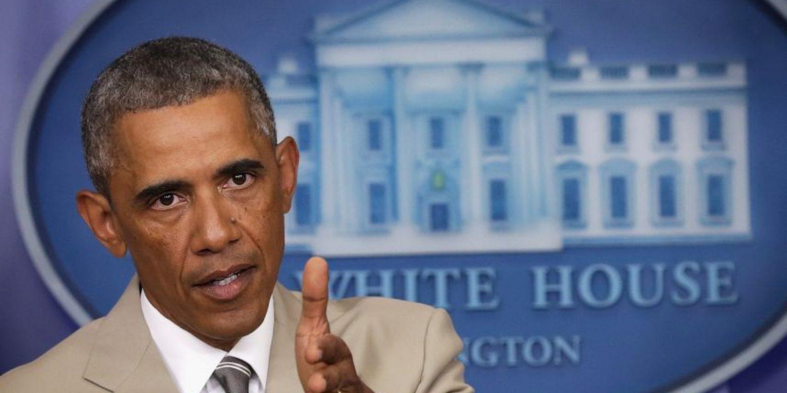2. El presidente de Estados Unidos Barack Obama anunció que enviará mil 500 soldados a Irak. Foto:Getty