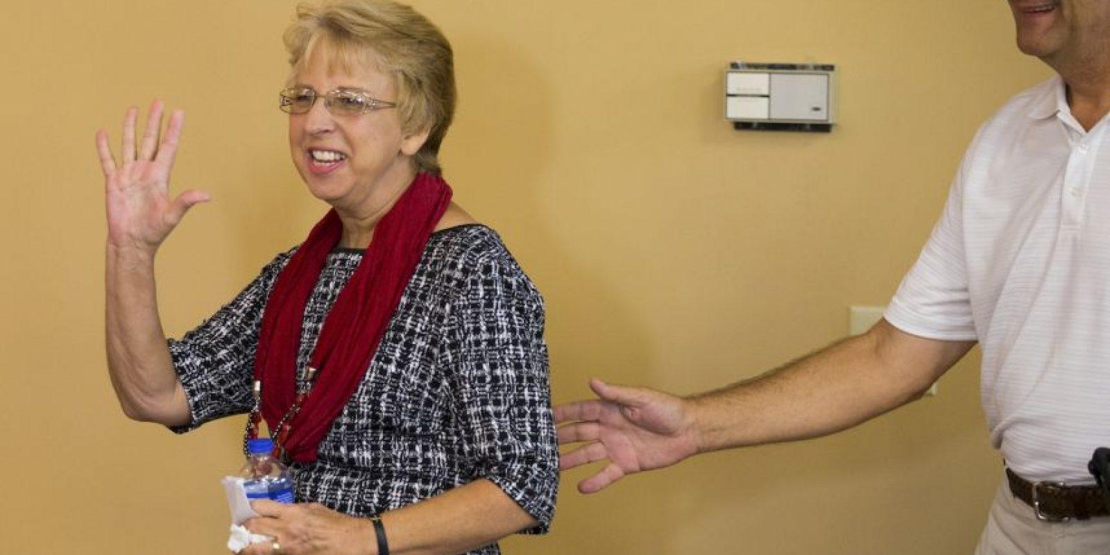 La enfermera estadounidense Nancy Writebol Foto:Getty Images
