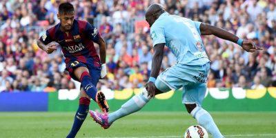 Regularmente estas jugadas las realiza Neymar en partidos o entrenamientos Foto:Getty