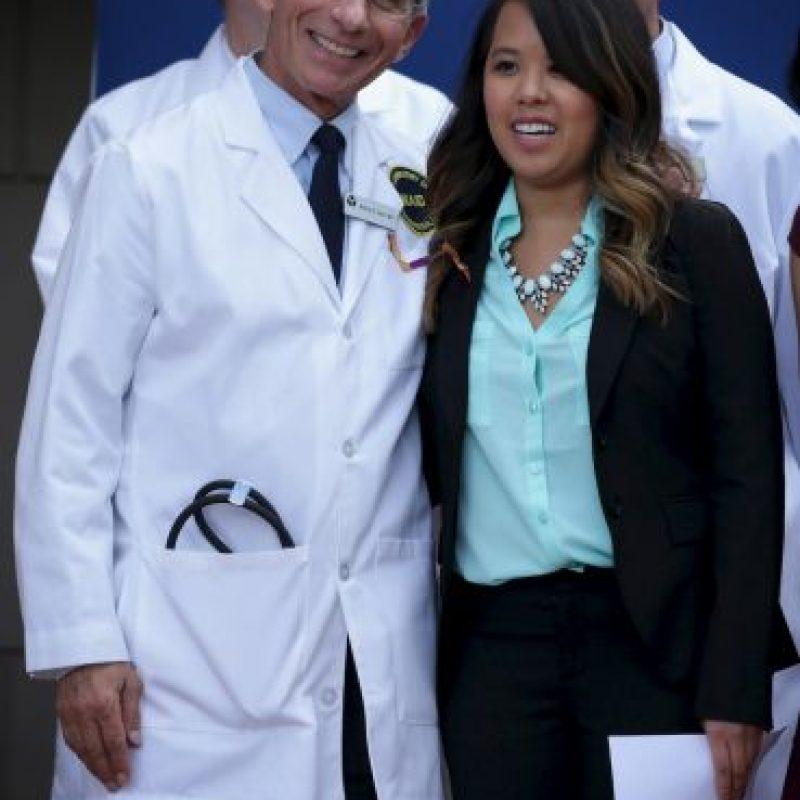 La enfermera estadounidense Nina Pham. Foto:Getty Images