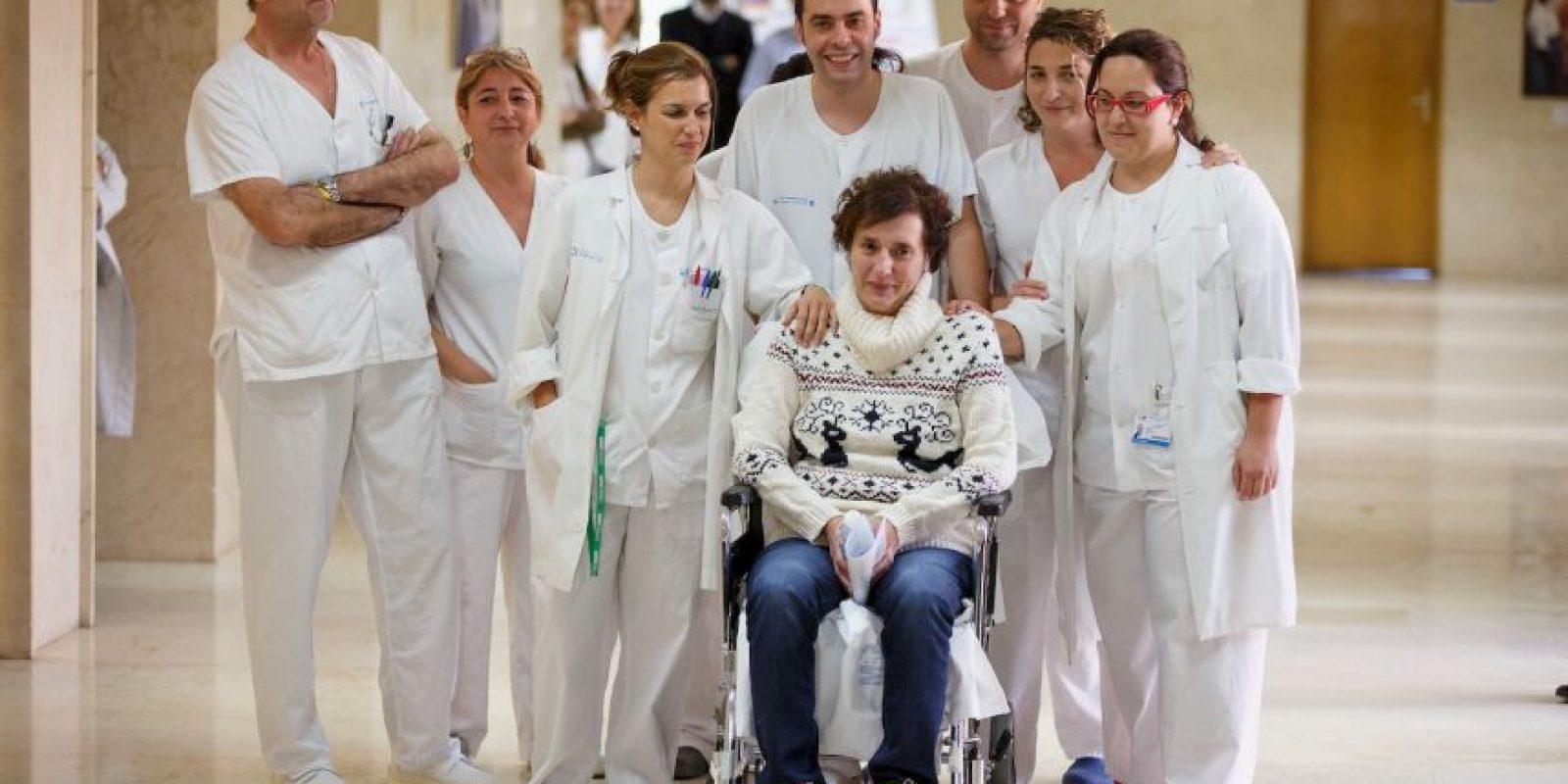 Teresa atendió al misionero Manuel García Viejo, quien se contagió en España Foto:Getty Images