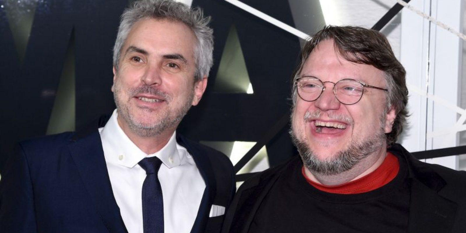 Alfonso Cuarón y Guillermo del Toro Foto:Getty Images