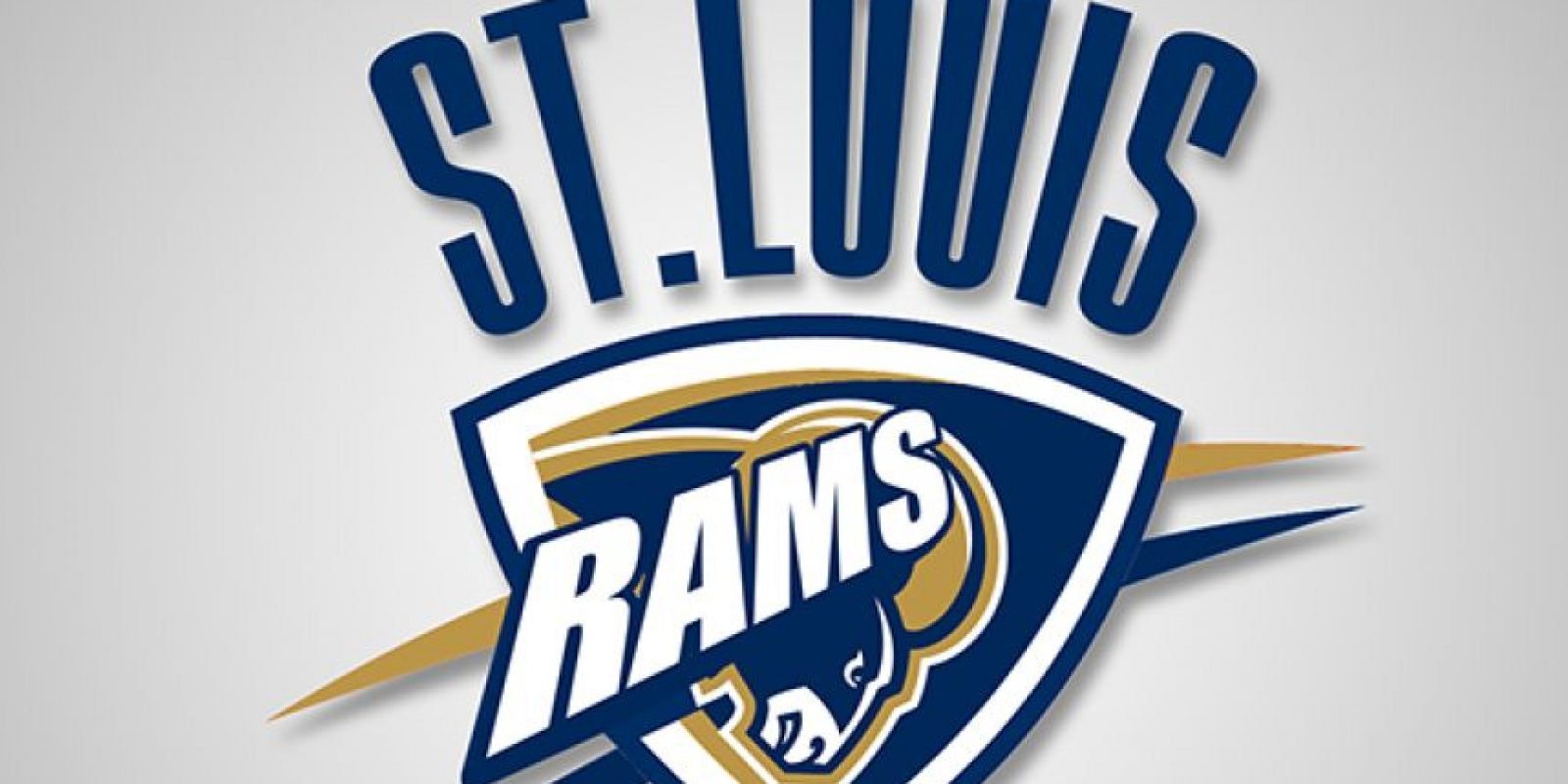 Oklahoma City Thunder y St Louis Rams Foto:DaylySnark