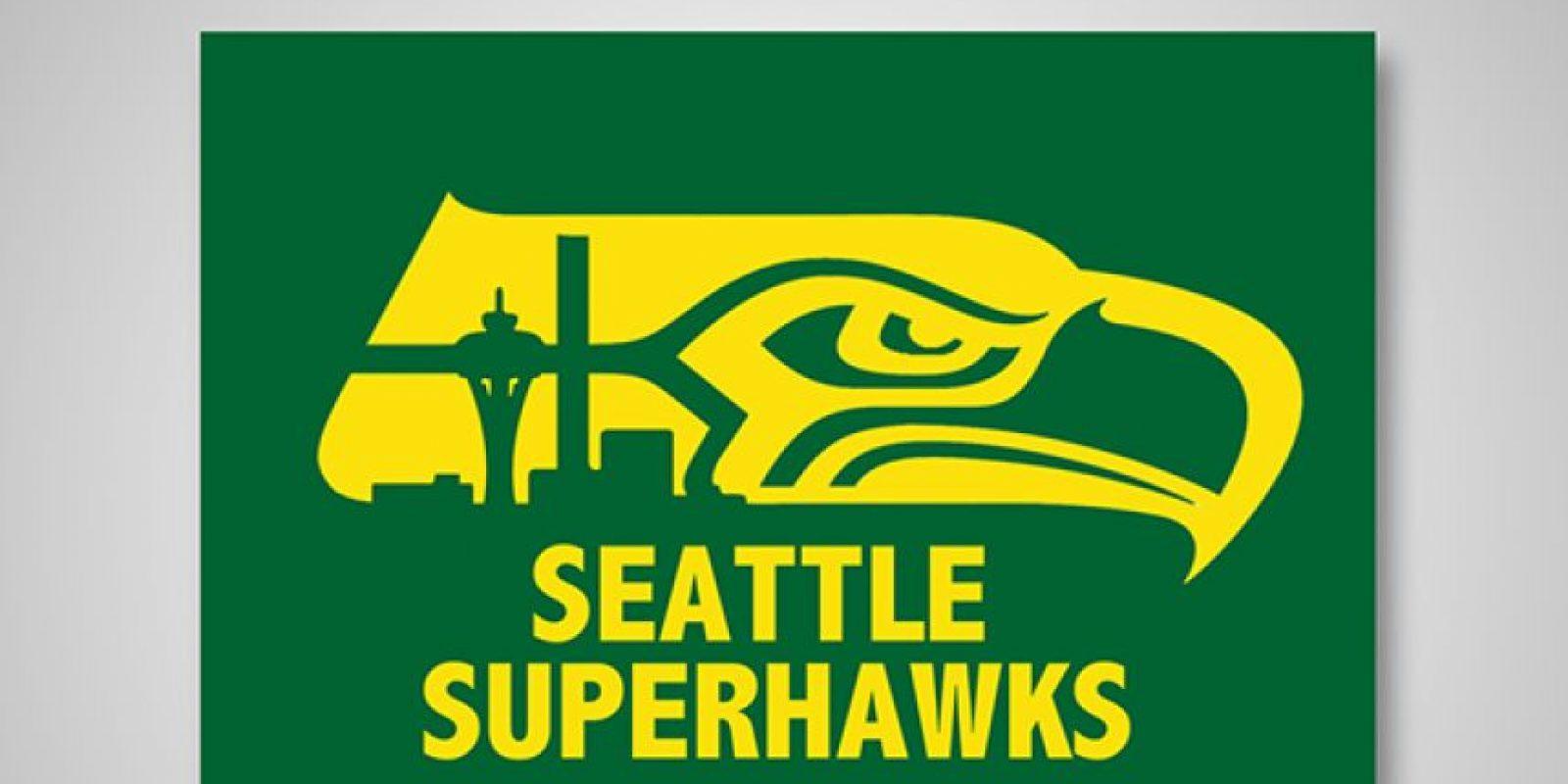 Seattle Supersonics x Seattle Seahawks Foto:DaylySnark