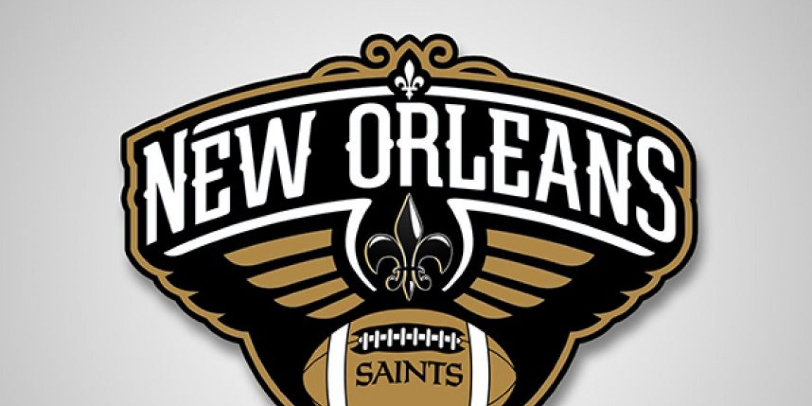 New Orleans Pelicans y New Orleans Saints Foto: DaylySnark