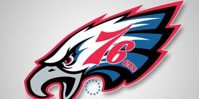 Philadelphia Eagles y Philadelphia 76ers Foto:DaylySnark