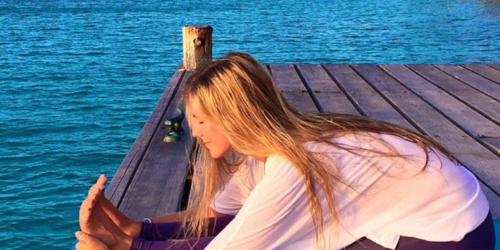 3. Ana Paula describe el yoga como una disciplina que te enseña a estar presente en tu vida, te brinda salud física, mental y espiritual Foto:Instagram: yoga_girl