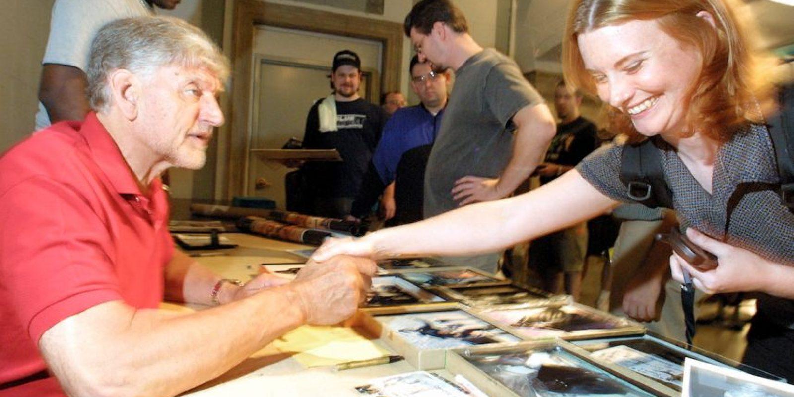 En un principio, David Prowse había sido contratado para dar vida a Darth Vader. Sin embargo, su voz fue eliminada. Foto:Getty Images