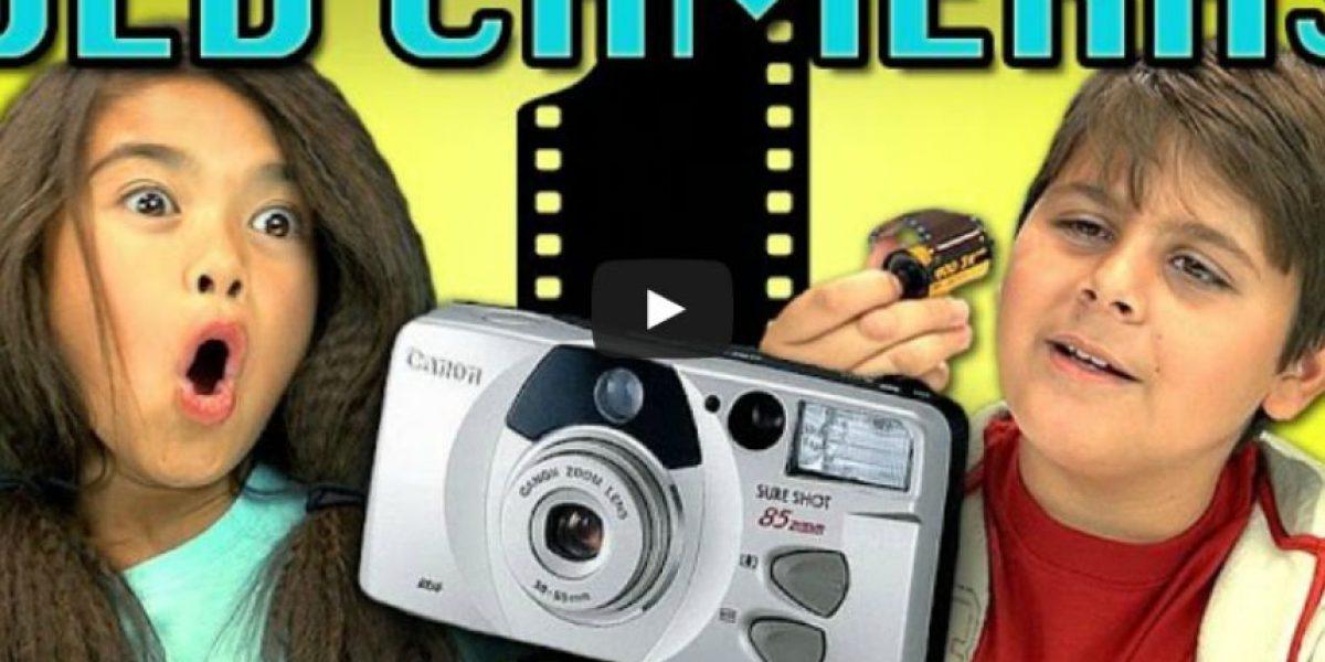 VIDEO: Así reaccionan los niños después de conocer una cámara antigua