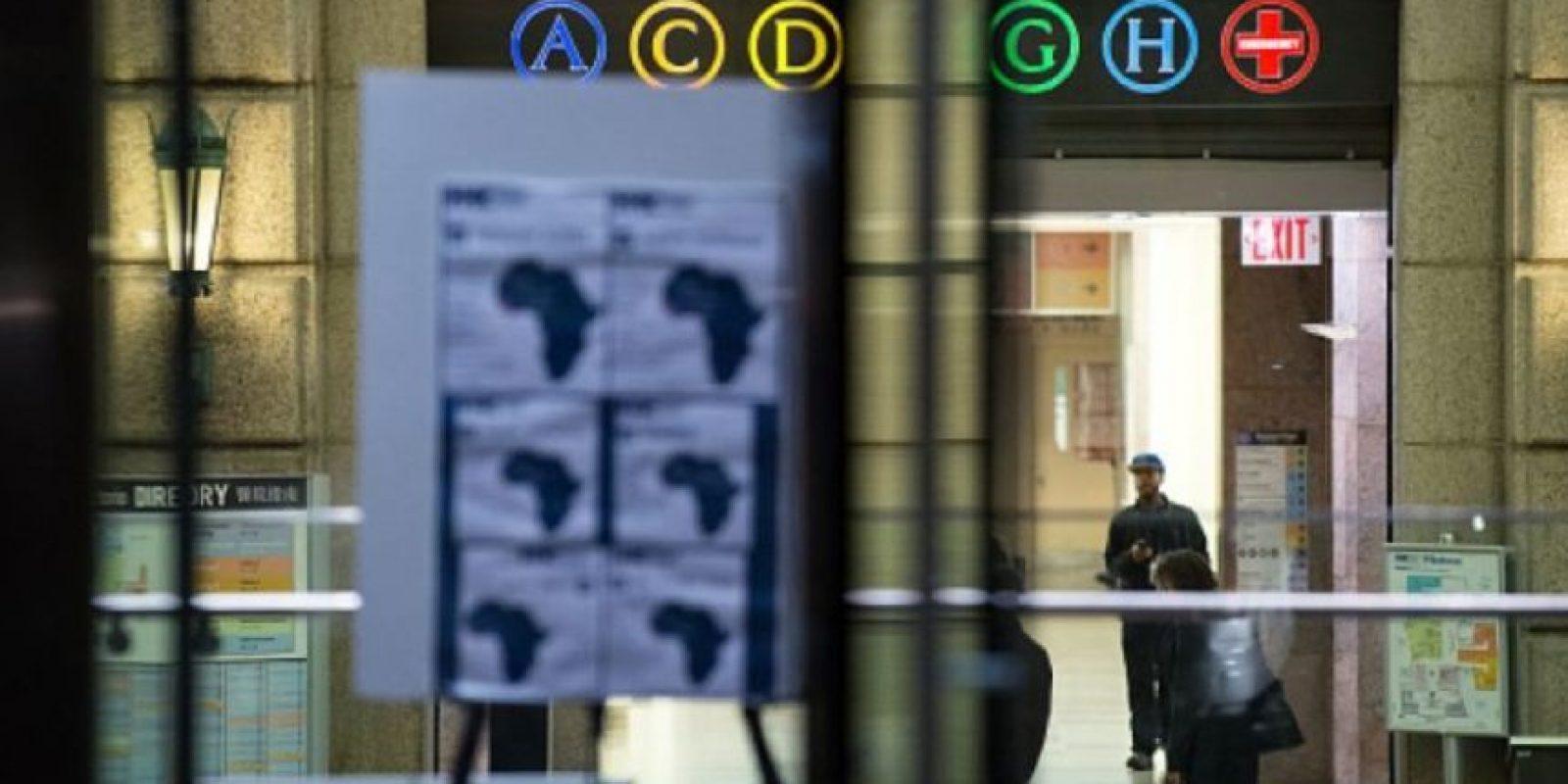 Hospital Belleuve en Nueva York, donde se encontraba aislado el médico Craig Allen Foto:Getty Images