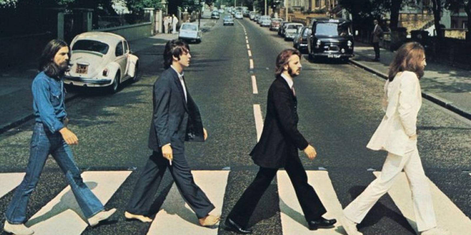 La imagen original Foto:Facebook/The Beatles