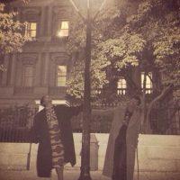 Rihanna fuera de la Casa Blanca Foto:Instagram/Badgalriri