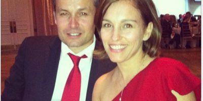 Está casada con Olvier Giner y tienen una hija de nombre Francesca. Foto:Instagram/atothedoublej