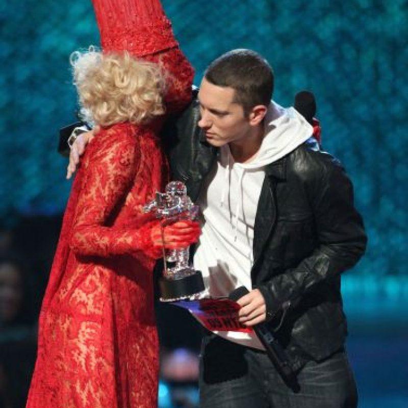 Eminem vinculó la violencia hacia Lana del Ray con la del jugador Ray Rice y su esposa Janay Foto:Getty