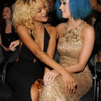 Rihanna y Katy Perry Foto: Getty