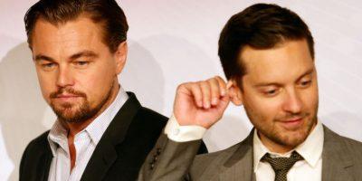 Tobey Maguire y Leonardo DiCaprio Foto: Getty