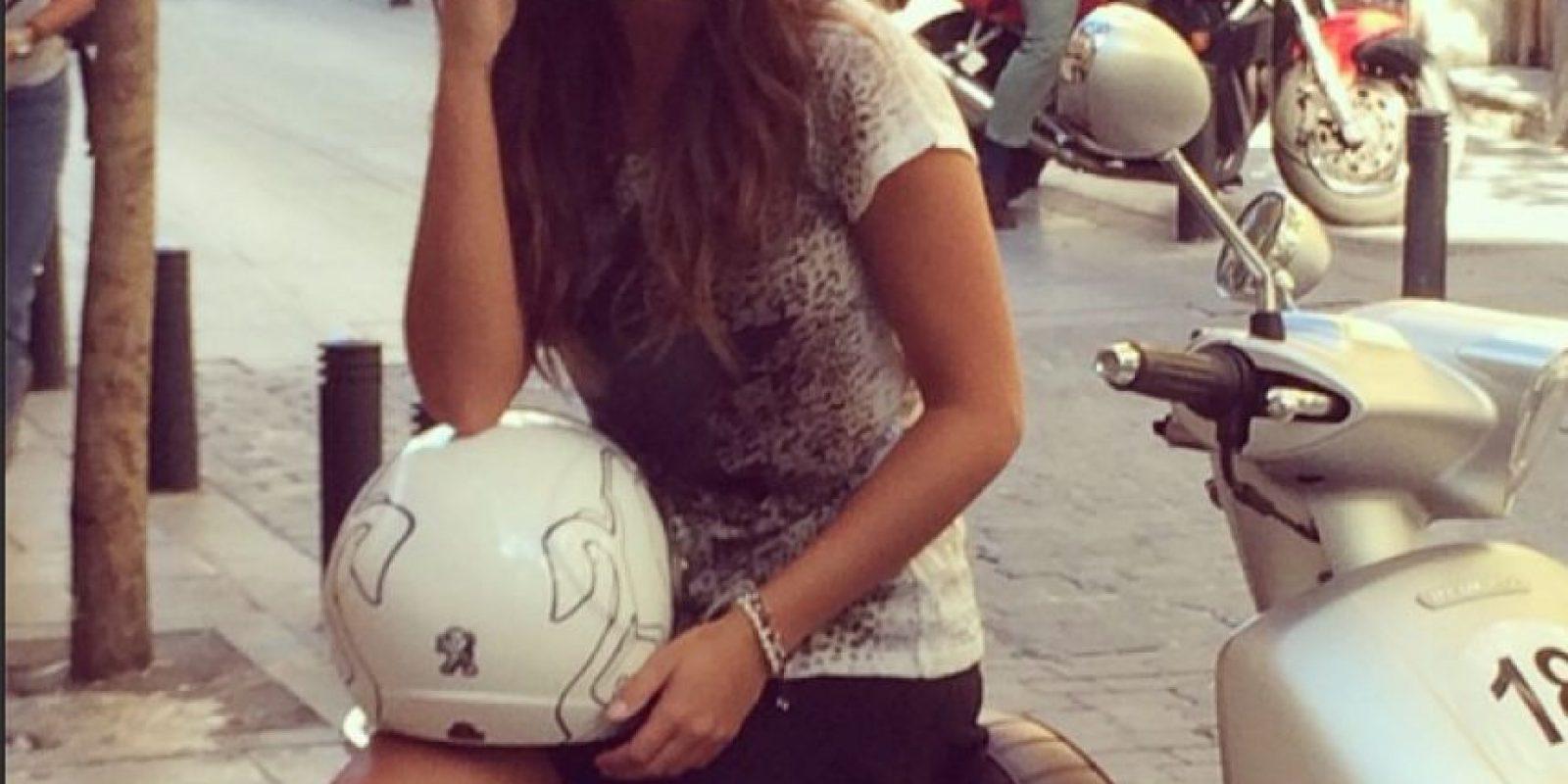 La periodista española ha cubierto el Mundial de MotoGP Foto:Instagram: @laruka