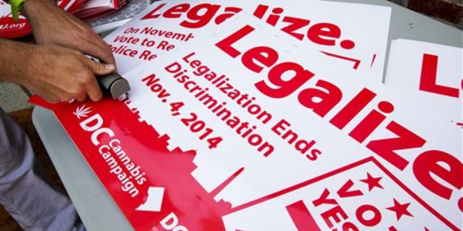 Regular la marihuana incrementa la seguridad de la sociedad. Información: Mic.com Foto:AP