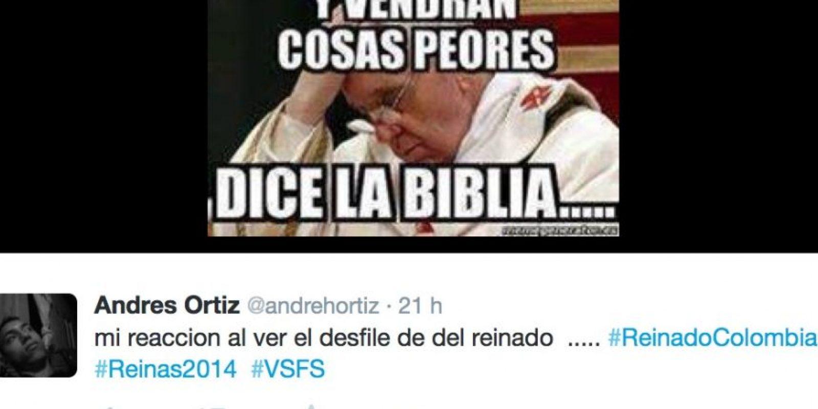 El desfile en traje de baño de las candidatas a Señorita Colombia fue ampliamente criticado en redes sociales Foto:Twitter