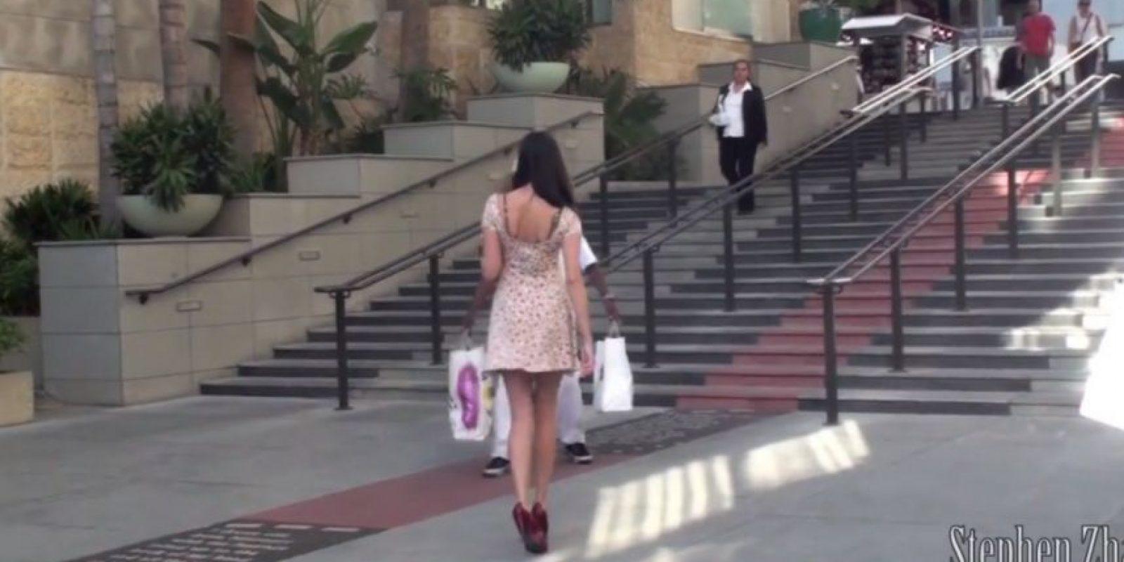 """""""Esto me da tanto miedo. Si una mujer se encuentra en esta posición y los hombres quieren tomar ventaja, qué desagradable"""". Foto:Captura de pantalla"""