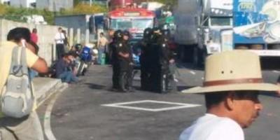 Empresarios arremeten contra manifestantes