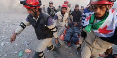 El mandatario indicó que los ataques aéreos durante los pasados meses han sido efectivos y que aseguró que las tropas estadounidenses no entrarían en combate, si no que apoyarían a las tropas locales. Foto:AFP