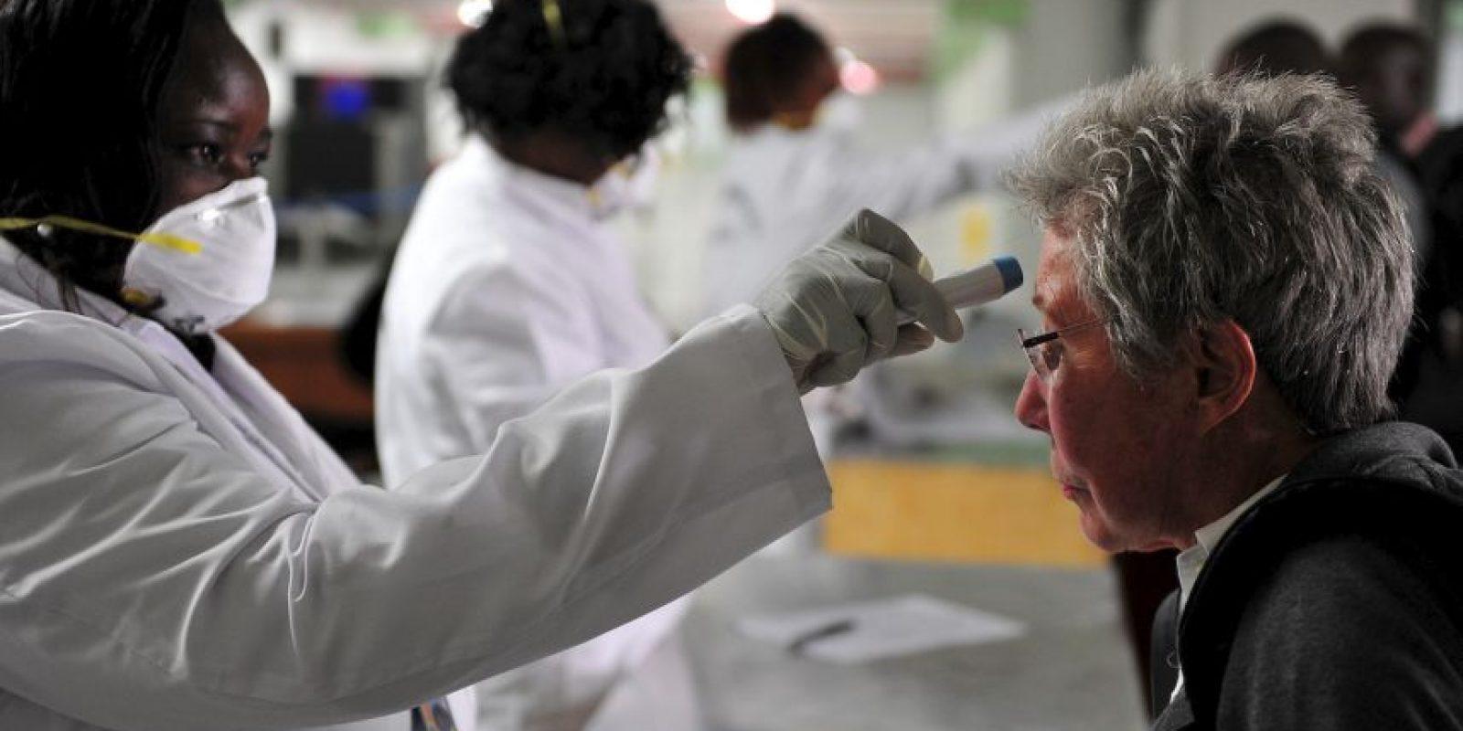 4. Un total de 14 mil 068 personas se han contagiado del virus. Foto:AFP