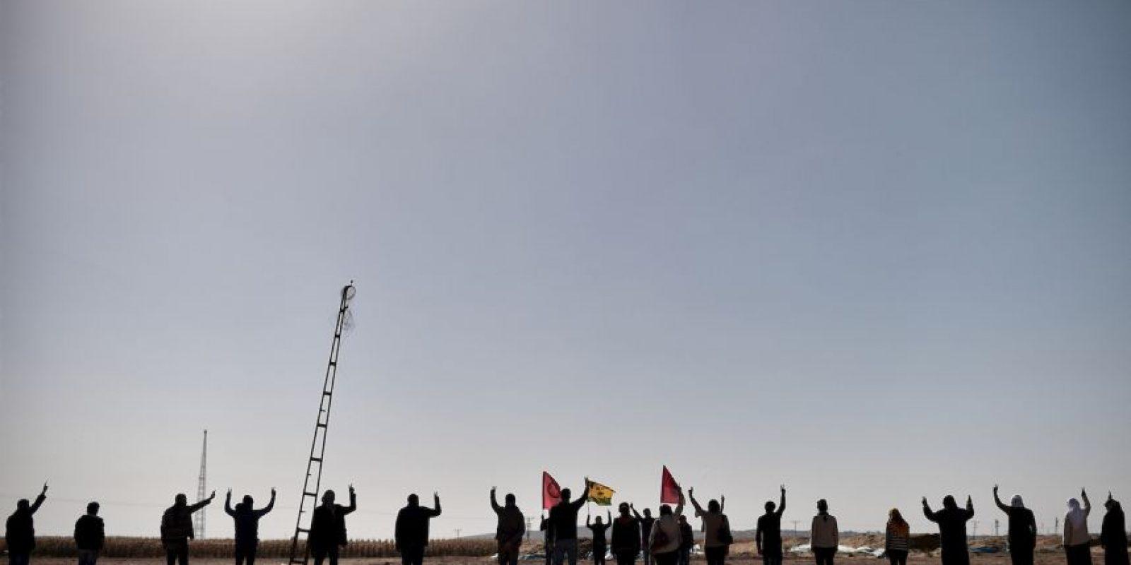 El grupo yihadista egipcio denominado como Ansar Bait al Maqdis (Partisanos de Jerusalén, en árabe) anunció que juró lealtad al líder el Estado Islámico. Foto:AFP