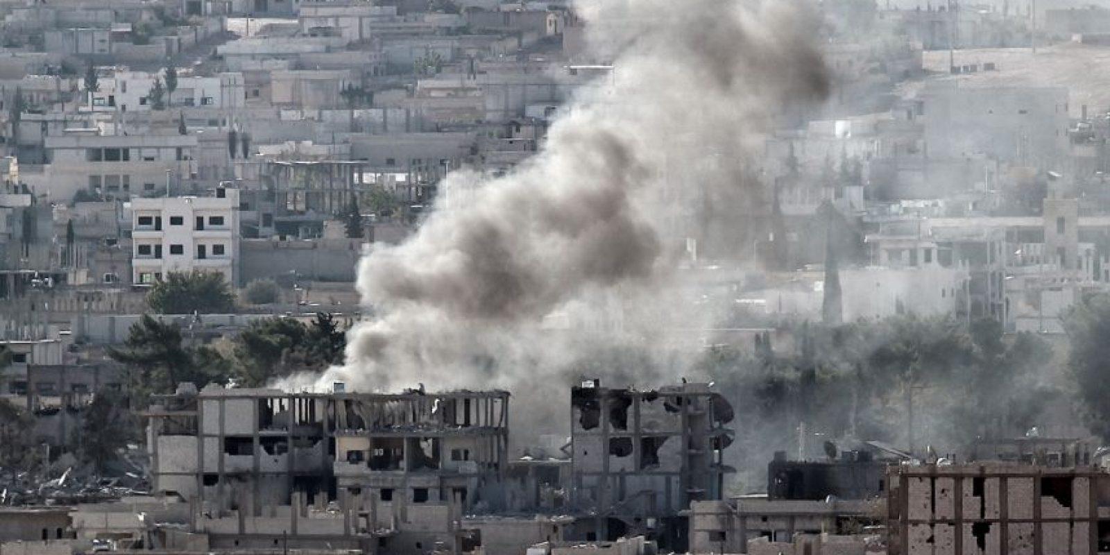 Según datos de la CIA, el número de soldados del grupo asciende de 20 mil a 30 mil. Foto:AFP