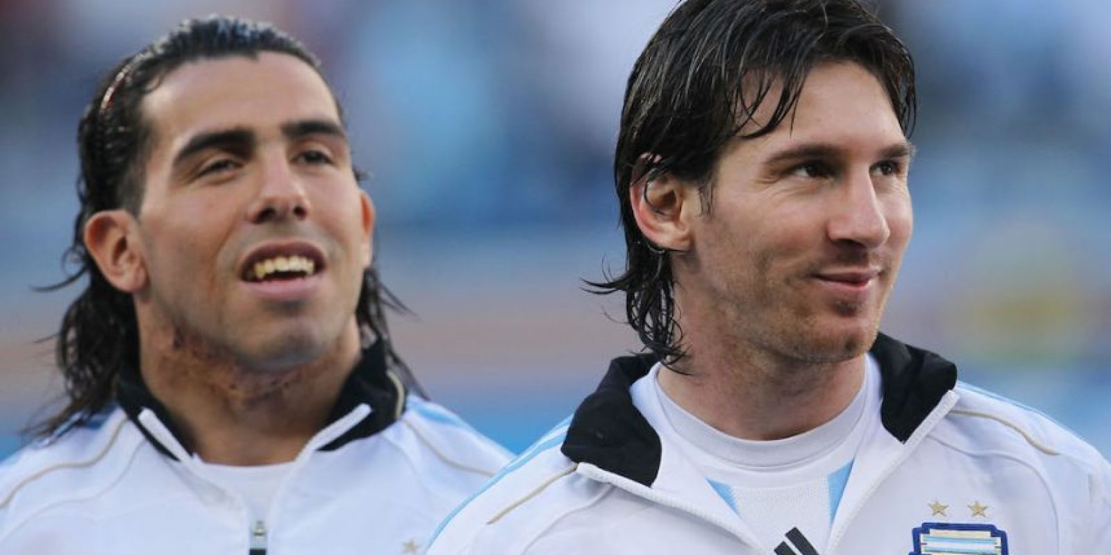 Carlos Tévez y Lionel Messi se reencontrarán en la albiceleste. Foto:Getty Images