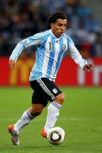 """Carlos """"apache"""" Tévez Foto:Getty Images"""