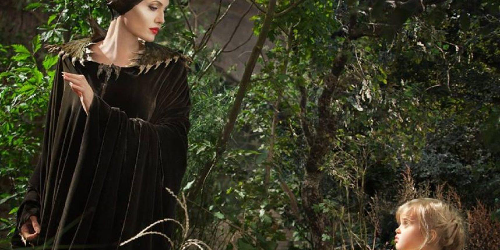 """Angelina Jolie en """"Maleficient"""" Foto:Facebook"""