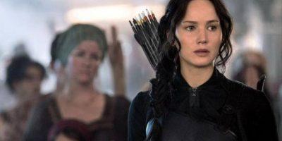 """Jennifer Lawrence en """"Los Juegos del Hambre Foto:Facebook"""