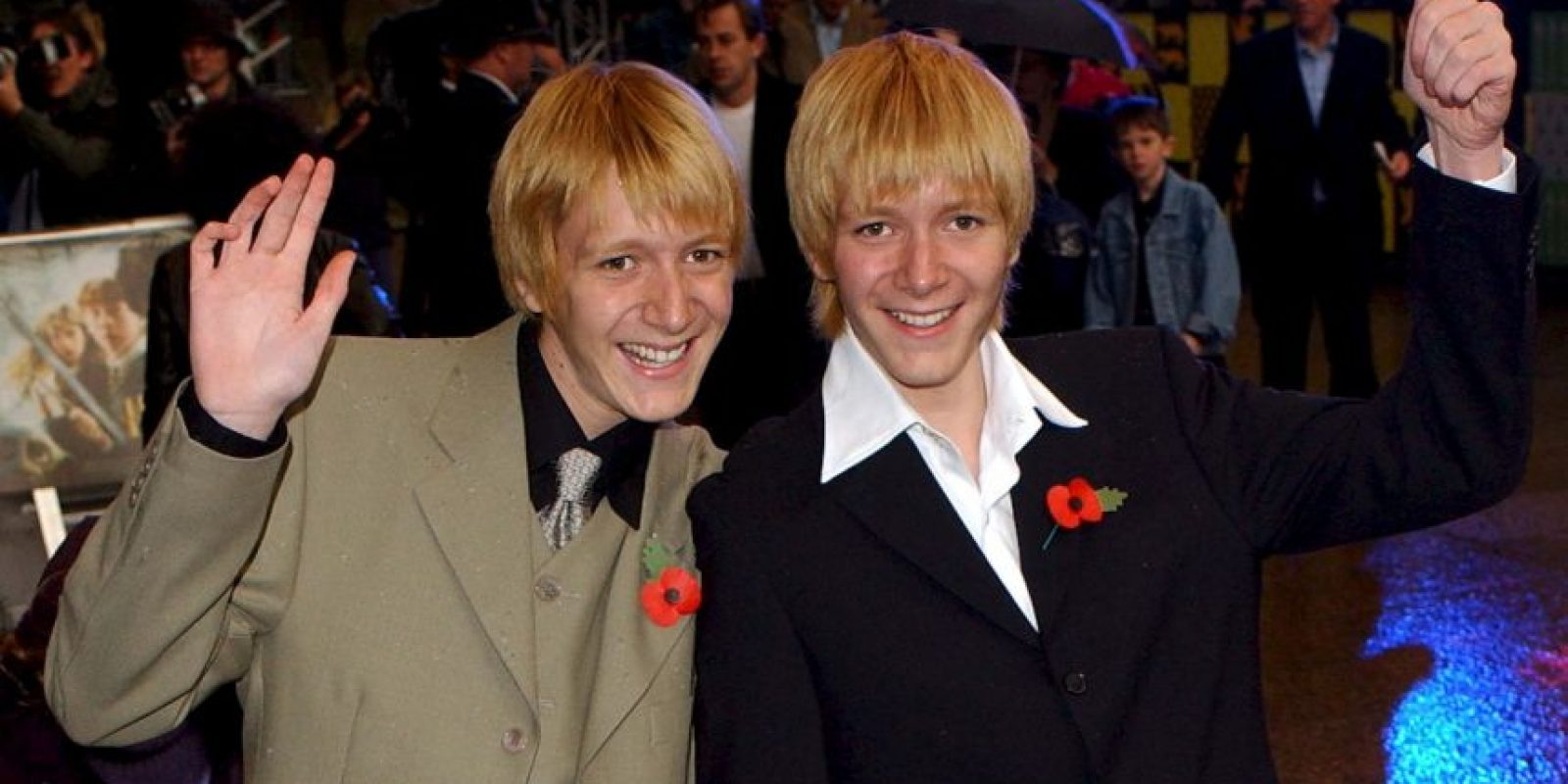 Oliver Phelps y James Phelps Foto:Getty Images