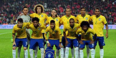 Este fue el once inicial del seleccionador brasileño, Dunga.