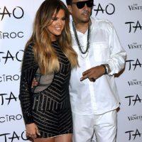 Khloe Kardashian y French Montana Foto:Getty Images