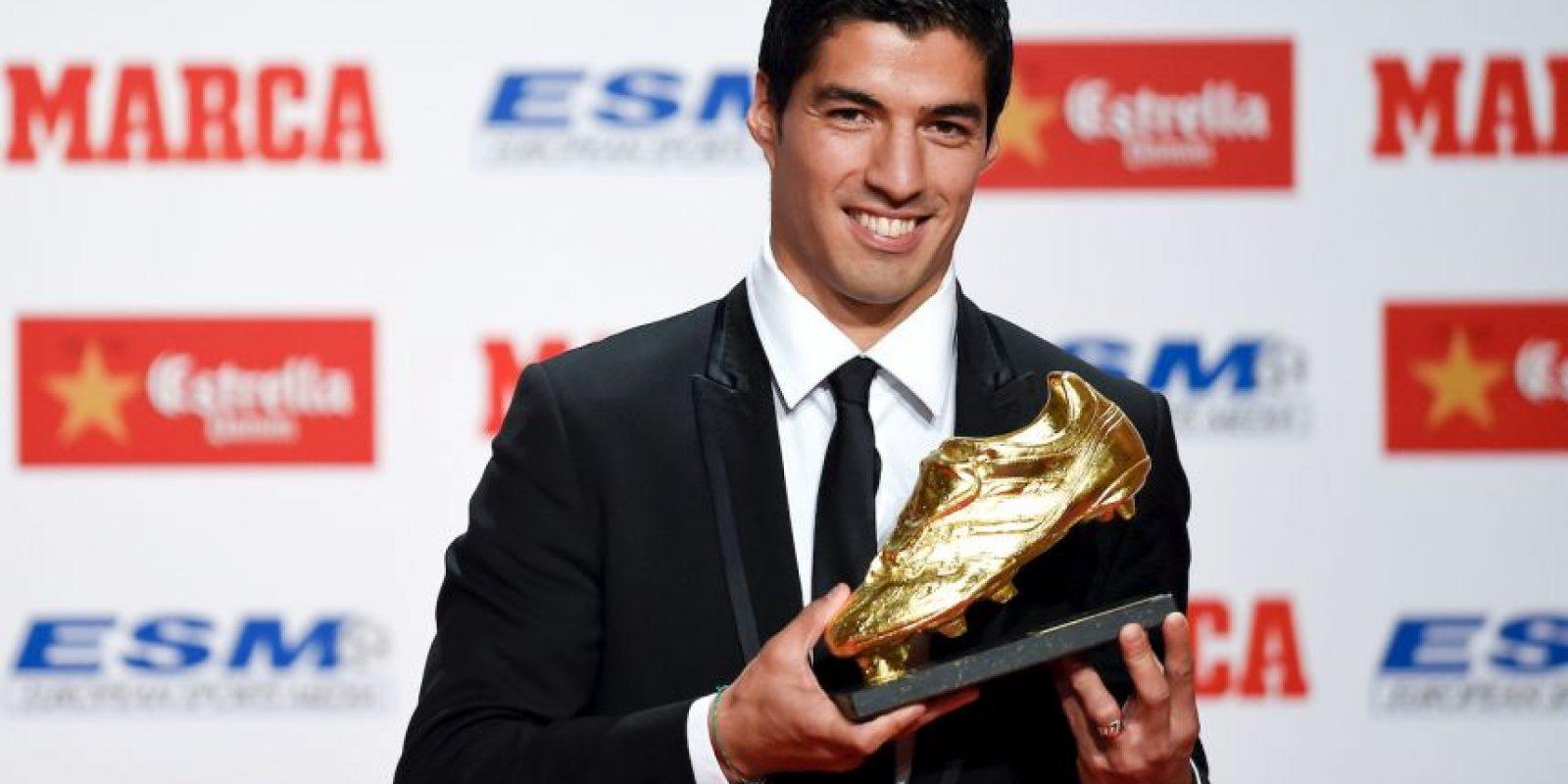 El mes pasado recibió la Bota de Oro como el máximo goledor en las Ligas europeas Foto:Getty