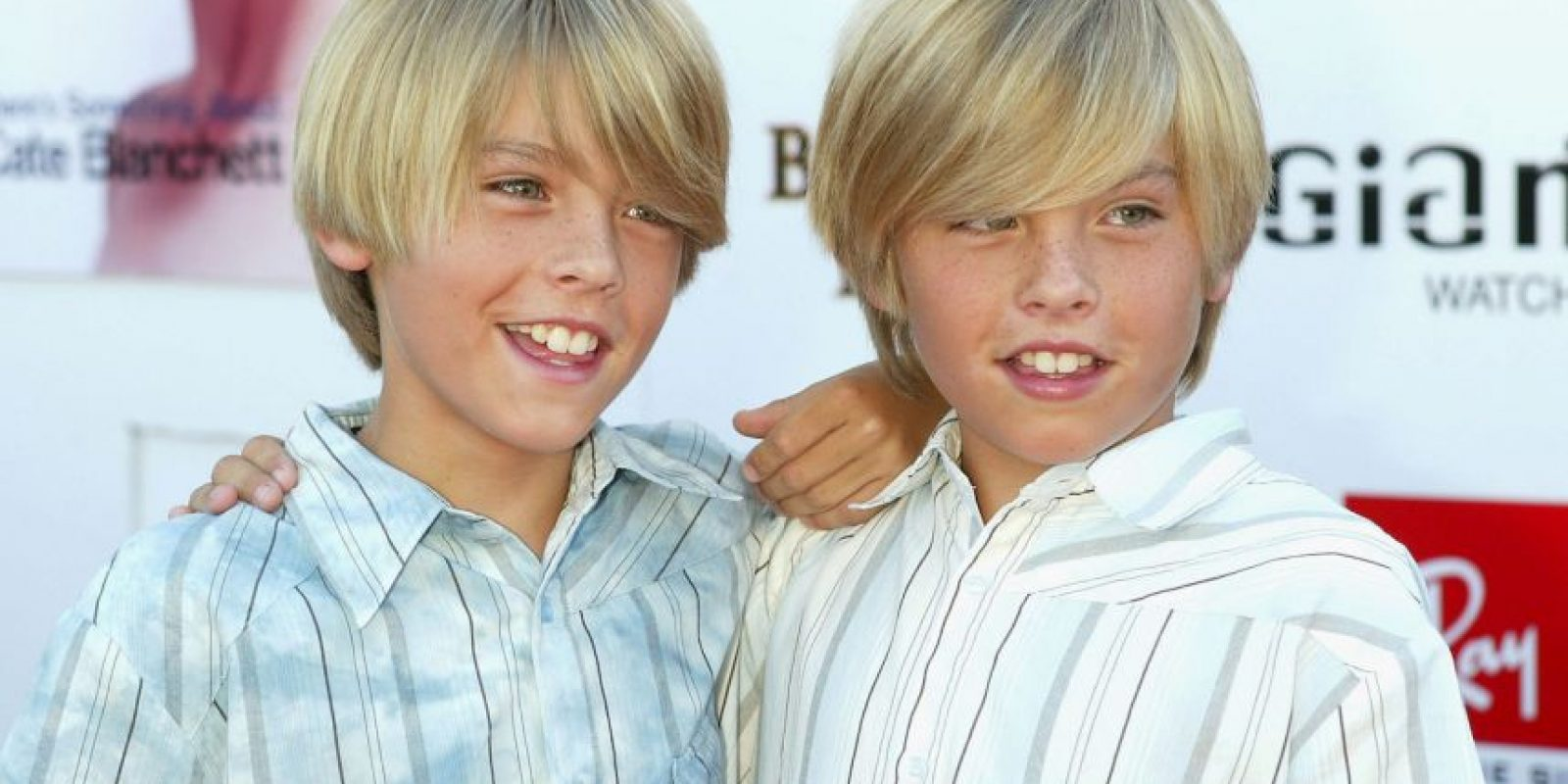Dylan y Cole Sprouse Foto:Getty Images