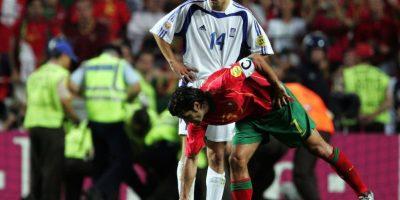 Figo había fichado recientemente por el Real Madrid. Foto:Getty Images