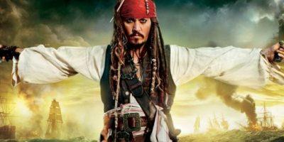 """Johnny Depp como Jack Sparrow en """"Piratas del Caribe"""" Foto:Facebook"""