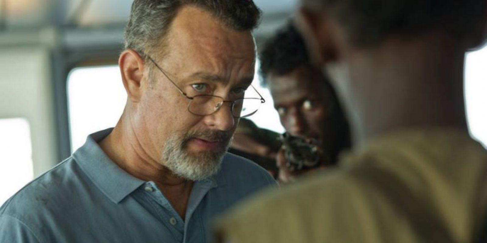 "Tom Hanks en ""Captain Phillips"" Foto:Facebook"